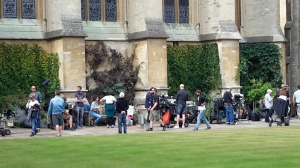 Exeter college filming
