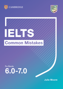 Cover image of IELTS Common Mistakes for bands 6.0-7.0